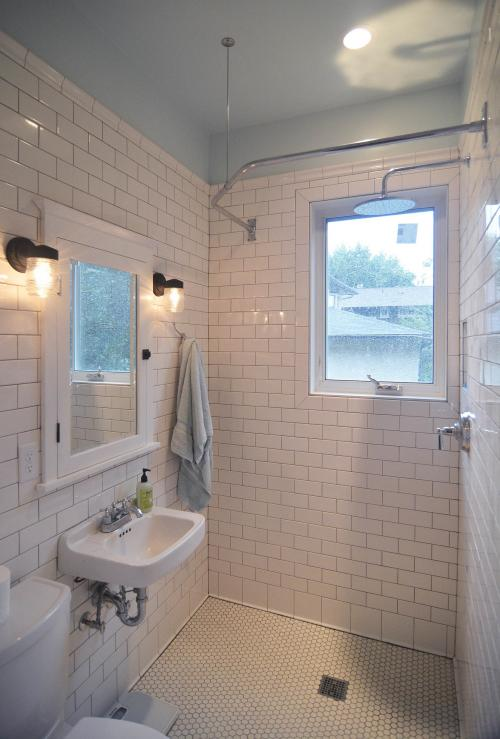 Bryn mawr bathroom and laundry room metropolis for Laundry in bathroom ideas