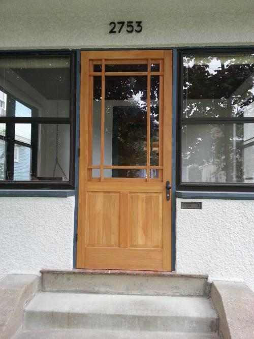 Wood Storm Door : storm doors - pezcame.com