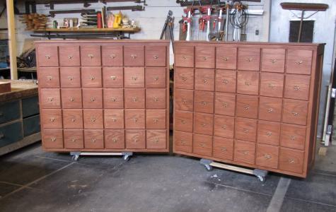 Custom Record Cabinets