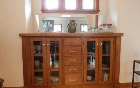 China Cabinet Bump Out