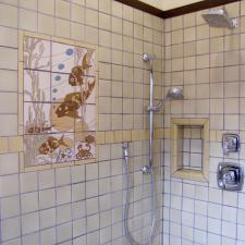Handmade Tile Shower