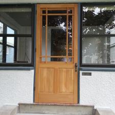 Wood Storm Door